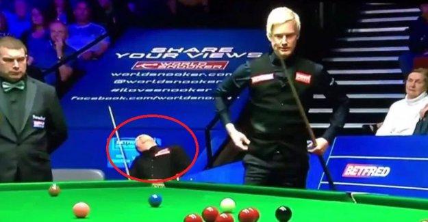 Ominous image of quadruple world champion creates bewilderment in snookerfans