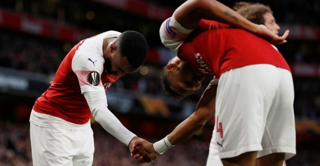 On an English final? Arsenal see Lacazette (2) and Aubameyang score after early opdoffer