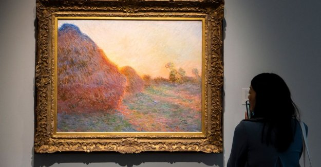 Painting Monet auctioned for the record price of 98 million euros