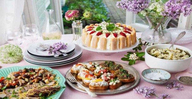 Paolo roberto's lovely Italian buffet