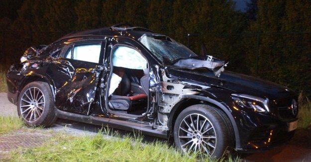 Passenger dies in serious crash in Waregem, driver was drunk and hit injuries