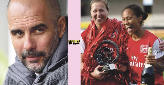 Pep Guardiola: the Ladies have already done it...