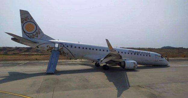 Pilot passenger plane makes successful emergency landing with faulty landing gear