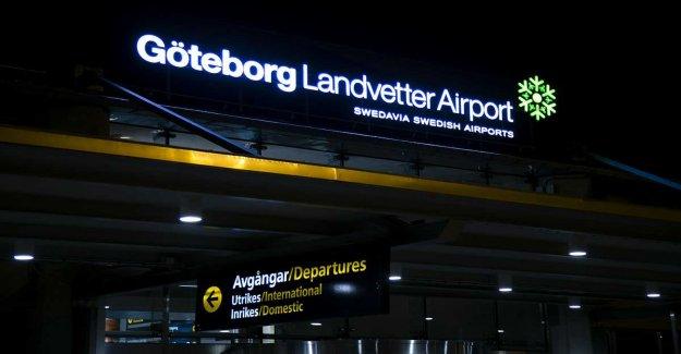 Plane was forced to make an emergency landing at Landvetter