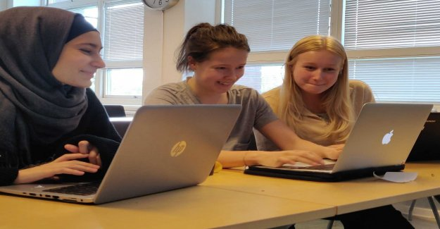 Pojkfritt camp get more girls to program