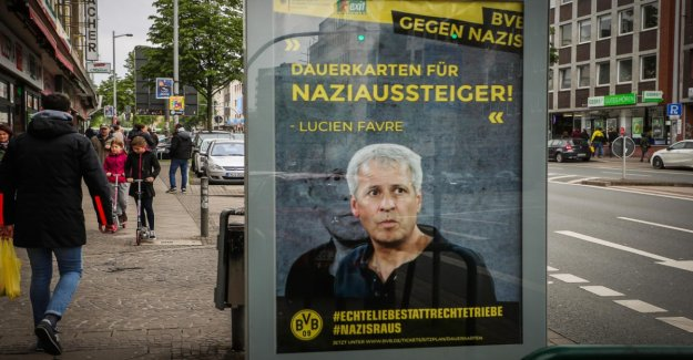 Police are investigating a poster action against Nazis