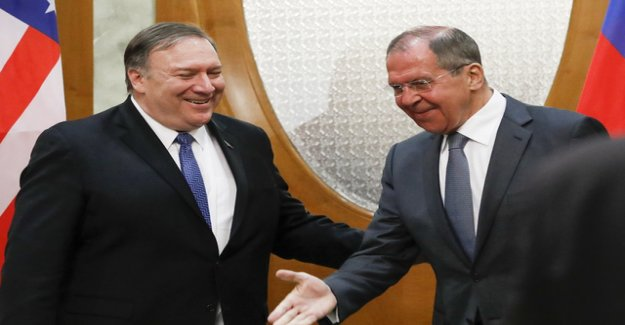 Pompeo is seeking in Russia after the great arms deal