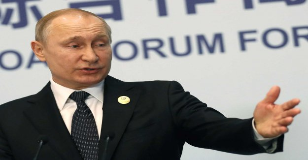 Putin's passerbjudande entry into force of