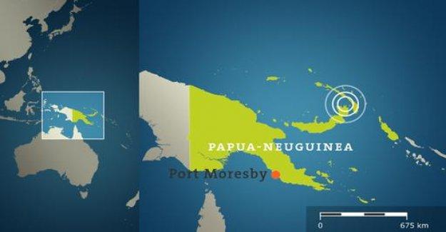 Quake off Papua new Guinea: authorities warn of Tsunami