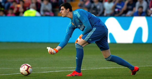 Real Madrid chooses next season have resolutely opted for Thibaut Courtois