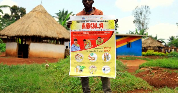 Red Cross: We can activities in the Congo do not limit now epidemic escalates