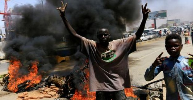 Riots following the agreement of the Sudan