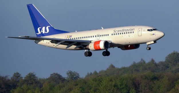 SAS: Saturday, should the flights go completely normal