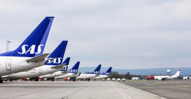 SAS announces agreement with pilots after a day-long strike