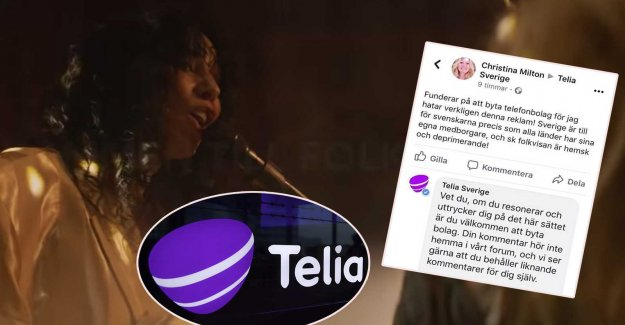 SD politicians sawn Telia's commercials – asked to change the operator
