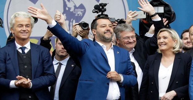 Salvini trying to create a unified populist front on the general meeting in Milan
