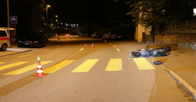 Scooter driver injured in auto accident in Männedorf hard