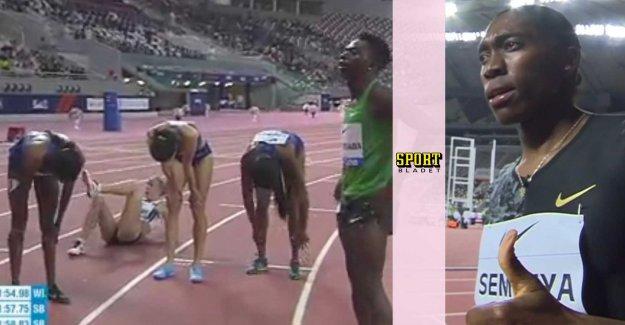 Semenyas crusher – in the last (?) the race