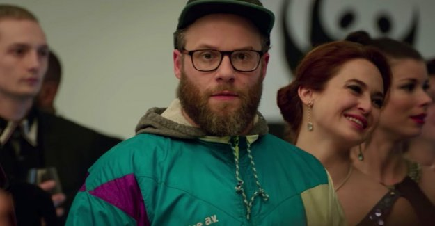 Seth Rogen and Charlize Theron wear the vest of Limburg athletics in hollywood movie