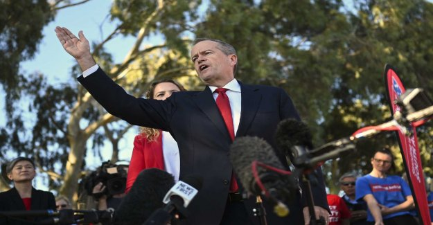 Shorten admits defeat in Australienvalet
