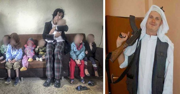 Skråmos children reunited with grandpa in Iraq