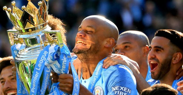 So punishment, but sad at the same time, the second place from Liverpool, Kompany has the mouth full