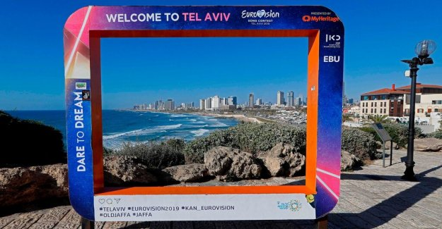 So secure is the Eurovision song contest in Tel Aviv