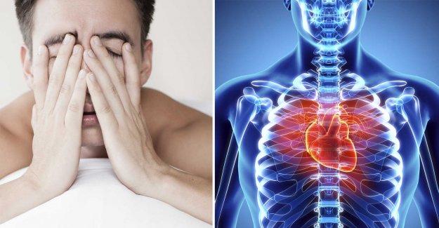 So you sleep in order to avoid cardiovascular disease