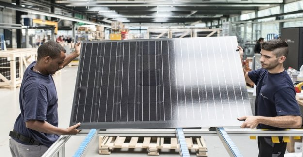 Sommaruga in the Clinch with the solar industry