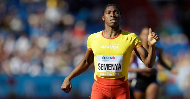 South africa to appeal the Cas decision on Semenya