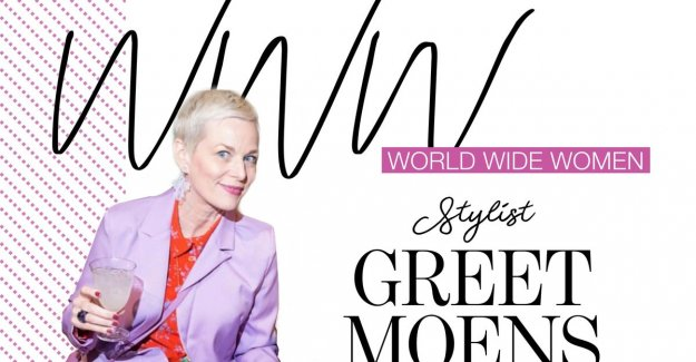 Stylist Greet Moens: I want to prove that fifties, still count. Fashion is not only for young women