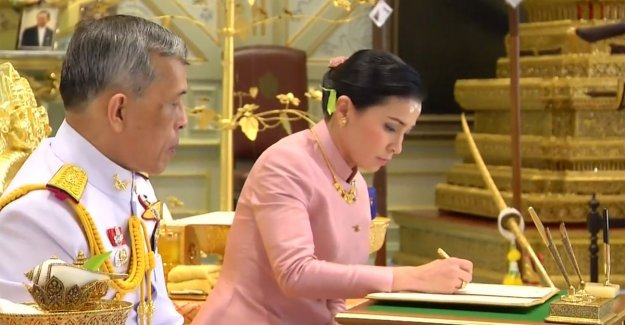 Surprise in Thailand: king marries personal bodyguard and crown her immediately to queen