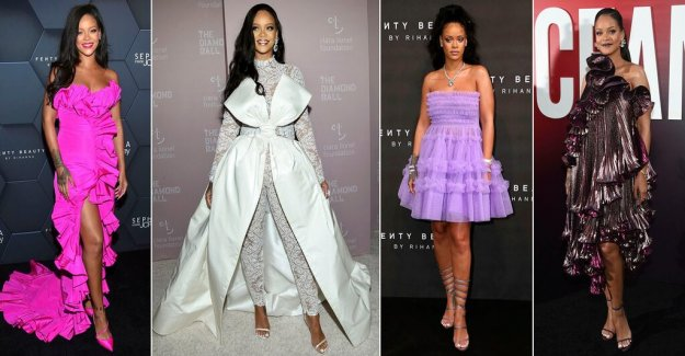 Susanne Ljung: Rihanna historical when she takes a place next to Dior and Givenchy