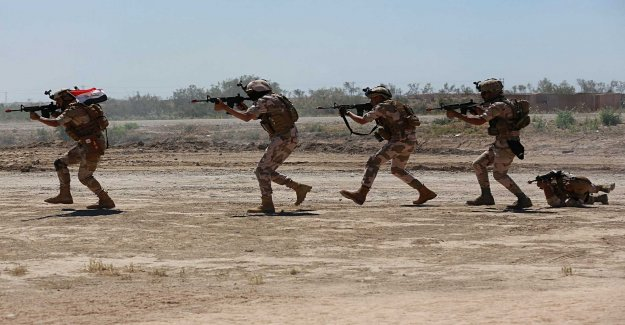 Sweden cancels military training in Iraq