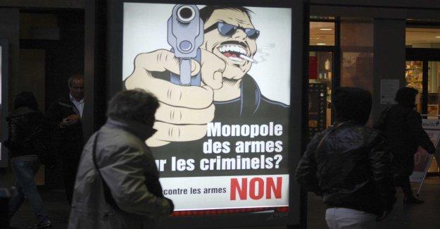 Switzerland votes for tougher gun laws