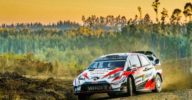 Tänak takes the victory in Chile, Neuville plays WK-leadership lost