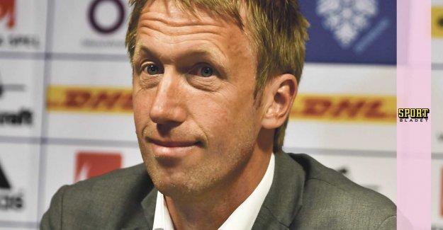 Task: Graham Potter ready for the Premier League club