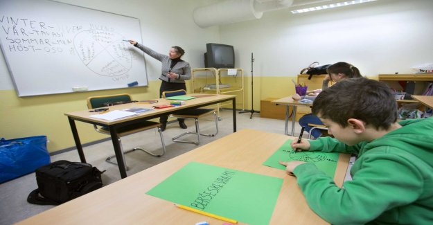 Teaching in the native language can get a bigger place