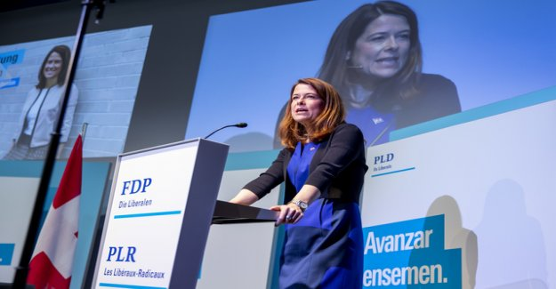 The FDP wants to second-strongest force in Switzerland