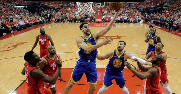 The Golden State through to the semis after thriller