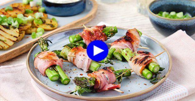 The best of two worlds: this spicy tapas, grilled on the barbecue