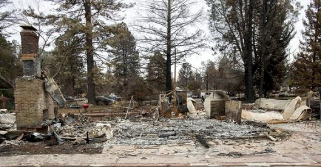 The cause of the fire in California: were the power lines