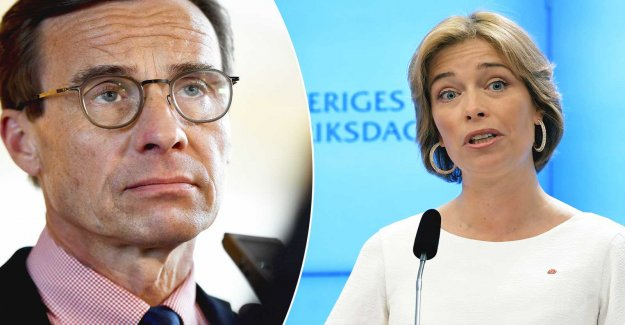 The conservatives are targeting mistrust of the Strandhäll