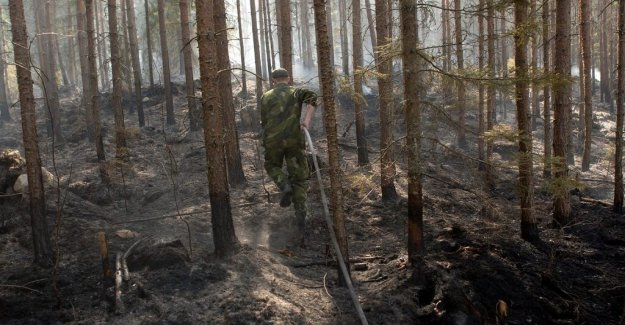The danger of forest fires is not over