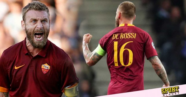 The end of an era – De Rossi leaving Roma after 18 years