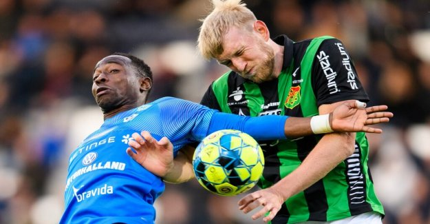 The fifth loss for Halmstad