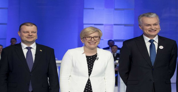 The first round of the presidential election in Lithuania