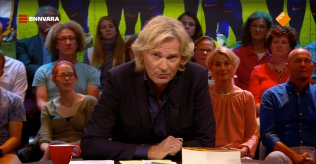 The fuss is about salary of a Dutch presenter who less should earn: a Large chance that he leaves