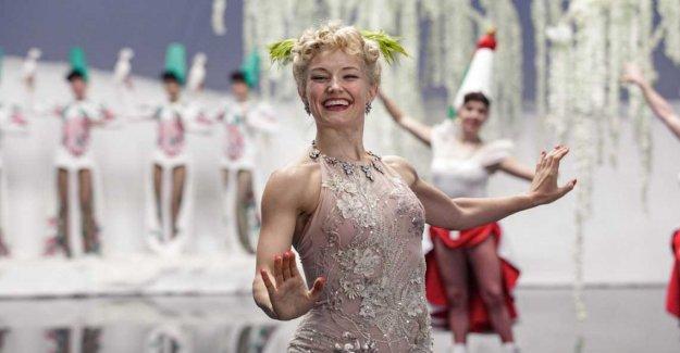 The ice-cold Norwegian skridskostjärna became a diva in Hollywood