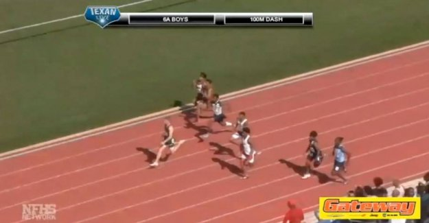 The new Bolt? Young talent set a new record in the 100 meters